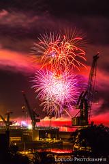 Feux d'artifices (Loulou Photographie) Tags: france de nikon fireworks jardin bretagne 200 brest 18 tamron dartifice feux finistre 2016 rade d3200 kerbonne