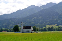St. Coloman (ivlys) Tags: germany allemagne deutschland bayern schwangau stcoloman kirche church tegelberg landschaft landscape nature ivyls