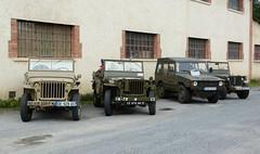 4 4x4 (Cletus Awreetus) Tags: jeep 4x4 vhiculetoutterrain automobileancienne voituredecollection vhiculemilitaire automobile vintage militaria willys mb 201 voiture collection volkswagen iltis