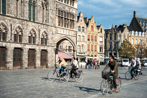 Biking in Ypres 2