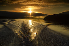 sunrise at your back (mysticislandphoto) Tags: seascape landscape vancouver island quatsino fishing sunrise flyfishing