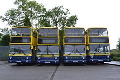 Dublin Bus AV219 01-D-20219 - AV218 01-D-20218 - AV217 01-D-20217 - AV143 01-D-70143 (Will Swain) Tags: harristown depot 11th june 2016 bus buses transport travel uk britain vehicle vehicles county country southern south east ireland irish city centre garage yard north airport near withdrawn dublin av219 01d20219 av218 01d20218 av217 01d20217 av143 01d70143