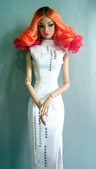 Anime Villain Poppy (kingkevin) Tags: itairway poppy poppyparker wig ooak ombre anika dasha cyber dress anime villain fashionroyalty nufantasy