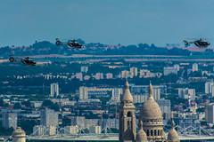Paris 14 Juillet 2016 - EC135 - EC145 Gendarmerie (thibou1) Tags: paris airplane nikon aircraft sigma tamron champselyses spotting ec135 gendarmerie frencharmy dfilarien armedelair ec145 d7100 thierrybourgain 14juillet2016
