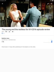 The young and the restless for 8-9-2016 episode review   https://youtu.be/955hUXXTfcI  #YR  #theyoungandtherestless  #youngandtherestless (san1andreas@bellsouth.net) Tags: cbsdaytime cbsnetwork cbs thesoapbox thesoaps thesoap soapoperas soapopera soaps soap yr theyoungandtherestless youngandtherestless