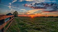 Sunset_3419 (refmo) Tags: sunset sky sun clouds bluegrass farm