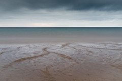 Dreich (Tom_Drysdale) Tags: sea summer camp cloud seascape beach grass sand fuji dune north july le fujifilm 2016 tyninghame tyningham