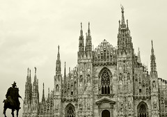 Duomo (Lorenzo Cocco Photography) Tags: architettura milano architecture lombardy italy italia linee lines details dettagli contrasto contrast