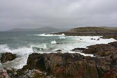 Waves on the Atlantic (supersky77) Tags: harris isleofharris island isola ebridi outerhebrides hebrides scotlan scozia ecosse wave onde oceano oceanoatlantico atlanticocean ocean atlantic