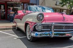 071016 Main St Car Show Part 1-9627 (davecarpenter2) Tags: 1955 car fairlane ford