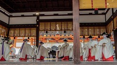 Hanagasa Junk Parade, Gion Matsuri 2015. (KyotoDreamTrips) Tags: gionmatsuri japan kabukiodori kyoto pontoch yasakashrine maiko