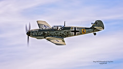 Flying Heritage Collection Messerschmitt Bf 109 E-3 (Emil) (Hawg Wild Photography) Tags: flying heritage collection messerschmitt bf 109 e3 emil john penny german wwii fighter aircraft paulgallen painefieldairportkpae everettwashington terrygreen nikon nikon200400vr d810