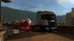 Change of plans (EduardoCBS) Tags: scania streamline highline r520 520 ets2 euro truck simulator 2 rjl norwegen norway road vlog diary caminho viagem dirio documentrio