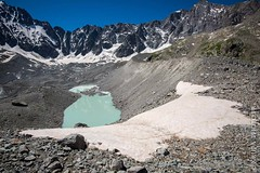 Lac du Glacier d'Arsine (2546m) (Yvann Krupa) Tags: hautesalpes trek randonnee alpes brianon alps parcnationaldesecrins montagne ecrins serrechevalier nature glacier hiking rando ecrinsnationalpark arsine mountain lac