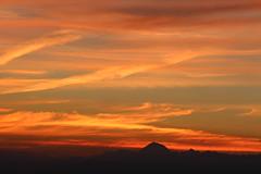Natural Mystic (leblondin) Tags: sunrise levdesoleil montagnes ciel sky nuages orange naranja belledonne alpes sonnenaufgang salidadelsol nascerdosol fortsainteynard