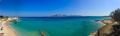 Beach Porta - koufonisia (Epameinondas M) Tags: iphone panoramic view sun horizon beach sea greekisland lullabies koufonisia holidays creekisland greece