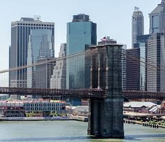 Brooklyn Bridge (Kent Crawford) Tags: nyc bridge skyline nikon 2470 f28 lowereastside streetphotography summer2016 phototour