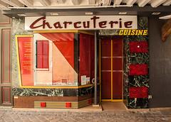 Charcuterie (Pixdar) Tags: versailles devanture yvelines storefront iledefrance vitrine shop charcuterie vintage