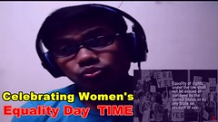 Celebrating Women's Equality Day-Reaction || Women's Equality Day 2016 (sarker175) Tags: celebrating womens equality dayreaction || day 2016