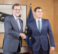 Mariano Rajoy se rene con Albert Rivera en el Congreso (Partido Popular) Tags: rajoy marianorajoy pp partidopopular albertrivera congresodelosdiputados