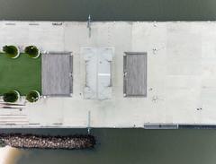 Princes Pier, Port Melbourne (gazrad) Tags: bay calm colour flat fromabove horizontal melbourne outdoors portphillip princespier sea smooth victoria water portmelbourne australia au