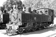 VOLOS, GREECE (Andrew Mansfield - Sheffield UK) Tags: steam trains railways tren treni treno volos greece steamengine ferrocarril 260t