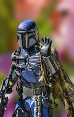 Warrior (swong95765) Tags: warrior bokeh armed fighter armor protection future costume