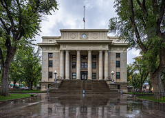 Courthouse-2418-HDR (Michael-Wilson) Tags: michaelwilson courthouse prescott architecure stone downtown arizona rain reflection yavapaicountycourthouse archiecture