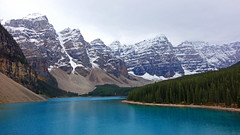 Moraine Lake (davedit) Tags: morainelake water lake alberta canada icefieldsparkway mountains landscape