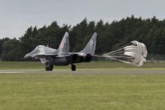 Mikoyan-Gurevich MiG-29A - 20 (NickJ 1972) Tags: raf fairford riat royalinternationalairtattoo airshow 2016 aviation mikoyan gurevich mig29 fulcrum 108