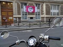 Schools on strike (Jeanne Menjoulet) Tags: école school grève banderole blanquer méfiance contrat confiance éducation primaire rueetiennedolet paris colere