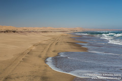 The Skeleton Coast, Namibia (NativePaul) Tags: africa travel vacation holiday sand honeymoon desert dunes may roadtrip namibia sanddunes southernafrica 2014 skeletoncoast namibdesert sadc rooibank sandwichharbour erongo may2014