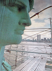 1980's World Book Encyclopedia Events Pic (142) (Photo Nut 2011) Tags: worldtradecenter twintowers statueofliberty 1980s worldbookencyclopedia