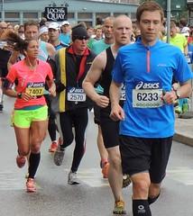 Marathon runners (bokage) Tags: sweden stockholm marathon running gamlastan runner oldtown skeppsbron bokage