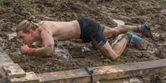 under the wire 3 (stevefge) Tags: people netherlands sport nijmegen mud nederland event viking berendonck strongviking