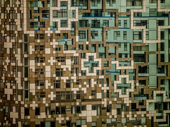 The Cube (MiguelHax) Tags: building architecture birmingham arch cross cube plus