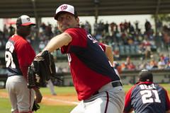 Scherzer in the bullpen after pitching 5 innings (Lorie Shaull) Tags: baseball nationals springtraining maxscherzer