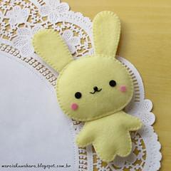 PSCOA 2015 (M.Kuwahara) Tags: cute rabbit easter felt pscoa kawaii feltro coelho marciakuwahara