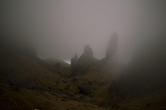 Old Man of Storr (iiisecondcreep) Tags: mist mountain skye weather rock fog canon landscape atmosphere oldman boulder adrian range storr 70d 3lt 1855stm