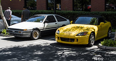 If only my car was a yellow RX-7... (NH512) Tags: cars honda nikon toyota s2k carshow s2000 ae86 superstreet nh512