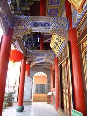 560 Kunming (farfalleetrincee) Tags: china travel art tourism asia buddhism adventure guide kunming yunnan chineselantern   bambootemple