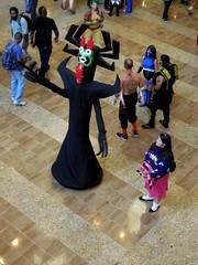Aku & Mabel (Wrath of Con Pics) Tags: cosplay aku dragoncon samuraijack gravityfalls mabelpines dragoncon2014