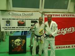 Seminario con El Gran Maestro Royce Gracie Lenda Viva del BJJ y UFC en Barcelona 16-7-2013