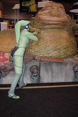SWC 2O15 - 0403 (Photography by J Krolak) Tags: california starwars costume cosplay jabba anaheim oola twilek