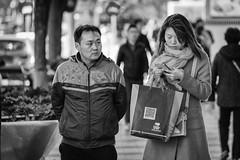 Unreachable (toletoletole (www.levold.de/photosphere)) Tags: china street people bw woman man beijing menschen sw mann frau peking nikond700