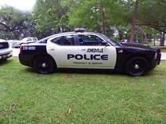 Jonesville PD_P1080575 (pluto665) Tags: car funeral dodge mopar squad cruiser charger escort copcar officerjuandregilliam