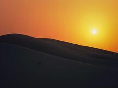 Toothing Dune Sunset (Doha Sam) Tags: sunset mamiya film mediumformat sand nikon fuji purple desert dusk connor slidefilm scan velvia chrome mf positive analogue wilderness 50 e6 manualfocus qatar fatherson iso50 nikonscan colourreversal m645pro coolscan9000ed southerndesert samagnew smashandgrabphotocom linearscan wwwsamagnewcom toothingdunes