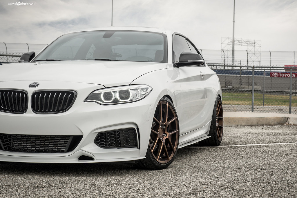 M510 Matte Antique Bronze Bmw M235i 3 AvantGardeWheels
