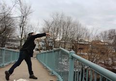 (spotboslow) Tags: charlesriver watertown massachusetts launchingday newyearsday