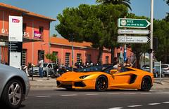 SPEC! (Kfir Mo$he) Tags: auto france cars spider automotive fav lamborghini supercar antibes supercars roadster aventador lp700